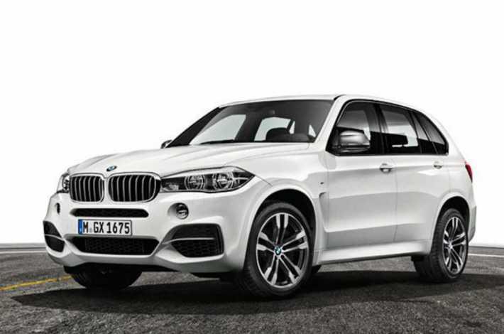 BMW X5 M50d в обвесе CLR RS от Lumma Design