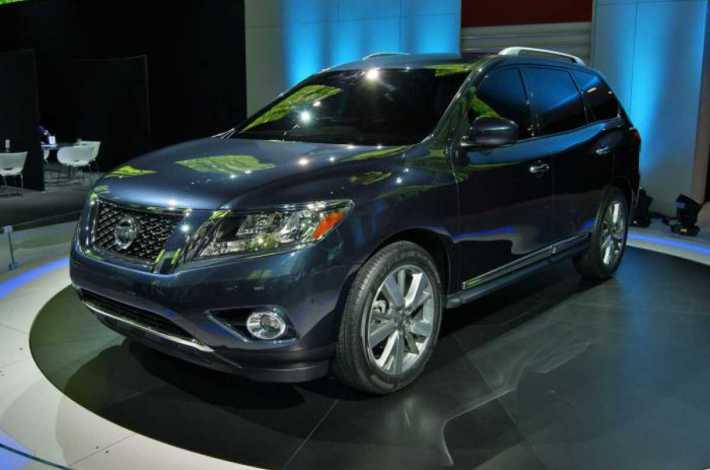 Новое поколение Nissan Pathfinder