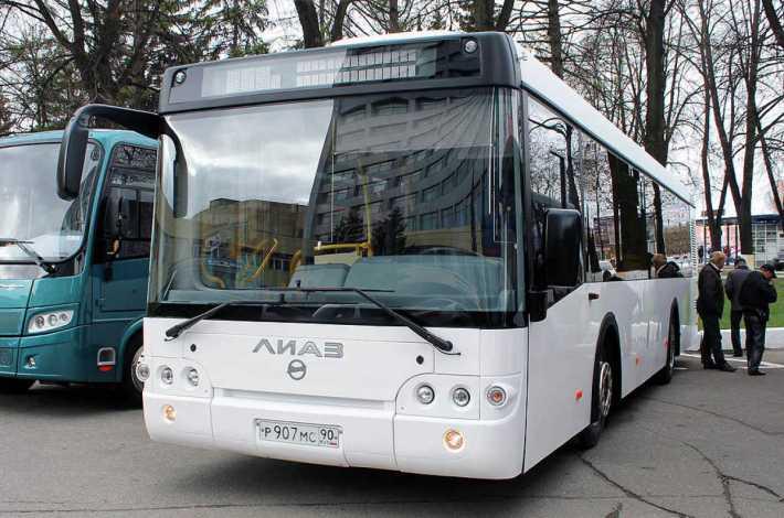 Демонстрация нового автобуса ЛиАЗ-529260
