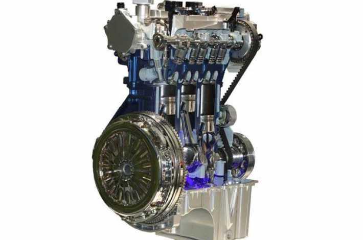 Новый 3-х цылиндровый двигатель .Экономичьный двигатель от Ford .