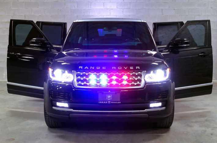 Новый бронированный Range Rover.