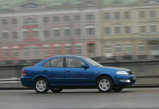 Nissan Almera седан 2006 - 2012