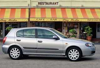 Nissan Almera хэтчбек 2000 - 2002