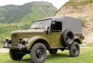 ГАЗ 69A  69A