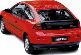 Mazda 323 Coupe  323 Coupe
