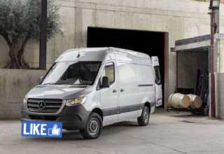 Новый переднеприводный Mercedes-Benz
