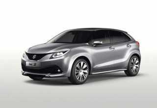 Новый доступный Suzuki Baleno.