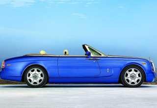Новый кабриолет Rolls-Royce.